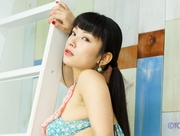 撮影会モデル春野恵さんの水着グラビア