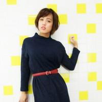 日里麻美さん私服ポートレート