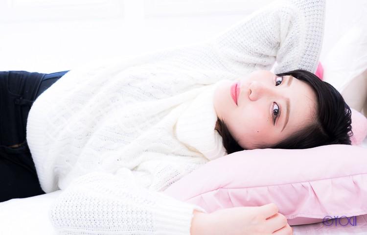 星合桃子 私服ポートレート