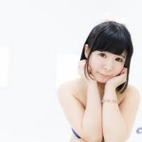 撮影会モデル藤田愛純さんの水着グラビア