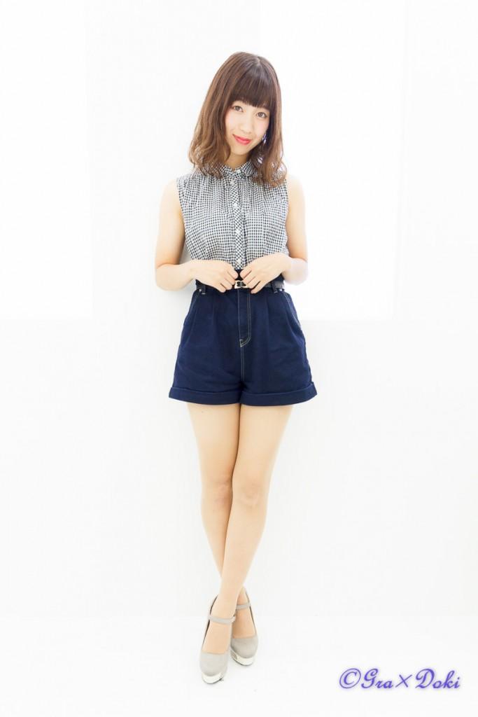 撮影会モデル日向愛琉さんの私服ポートレート