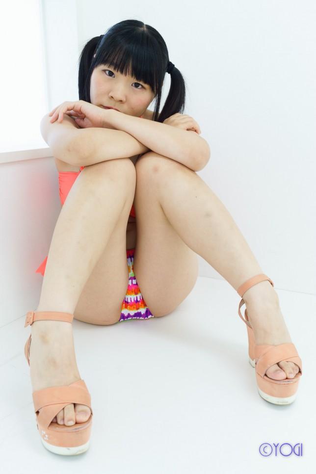 撮影会モデルかとう萌子さんの水着ポートレート