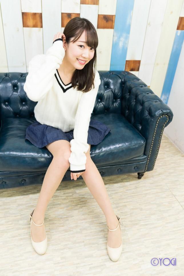 撮影会モデル徳成玲香さんの私服ポートレート