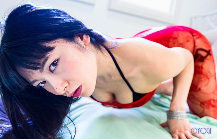 春野恵さんの水着グラビア