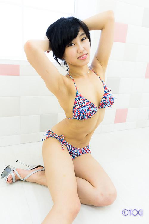 咲村良子水着ポートレート